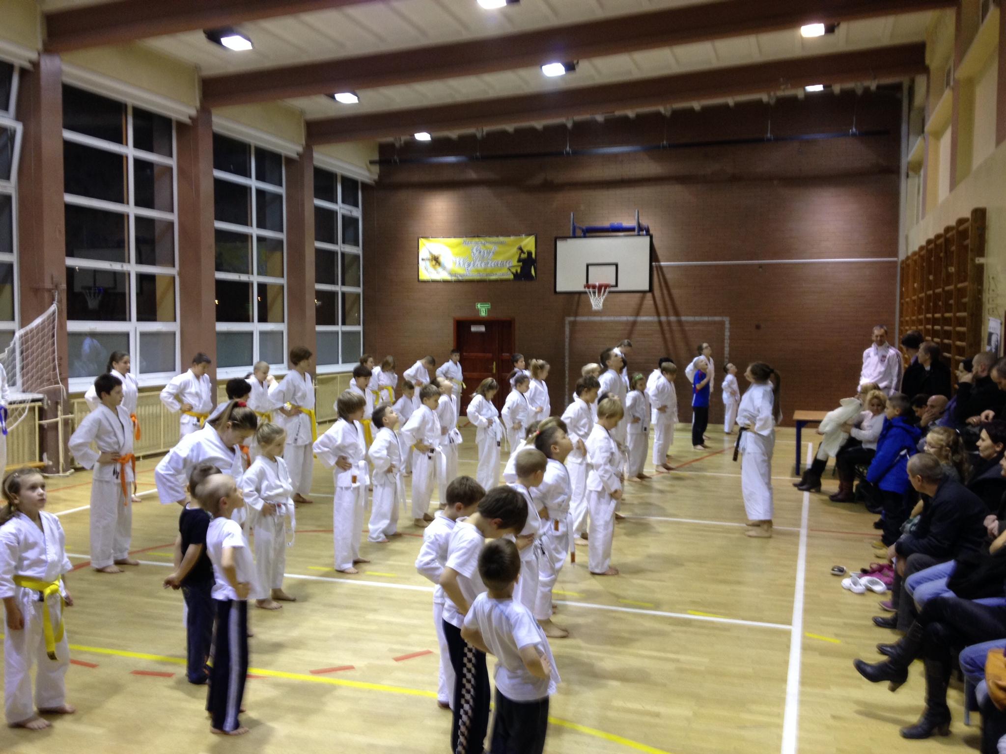 Egzaminy w Karate klub Wejherowo